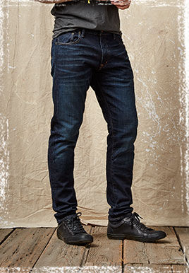 Dark-wash D&S Graham Skinny jean