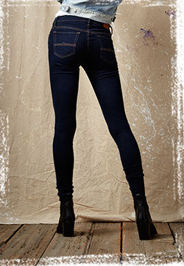Dark-wash Super Skinny Jean
