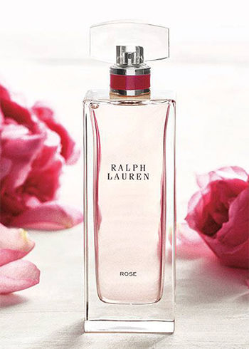 Bottle of Ralph Lauren Collection Rose fragrance
