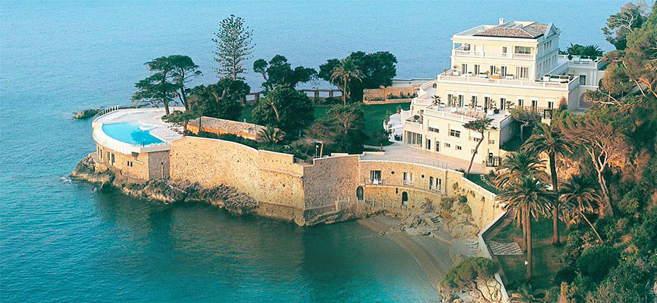 Image of Hôtel Cap Estel, located seaside on Côte d'Azur
