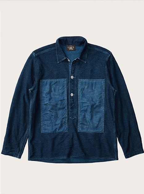 Chambray and indigo-dyed shirts
