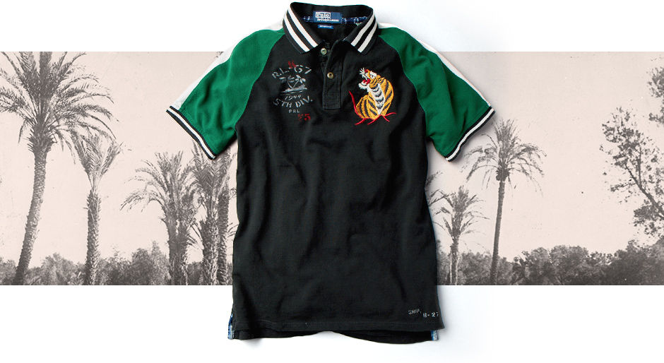 Animated GIF of The Tour Jacket Polo Shirt