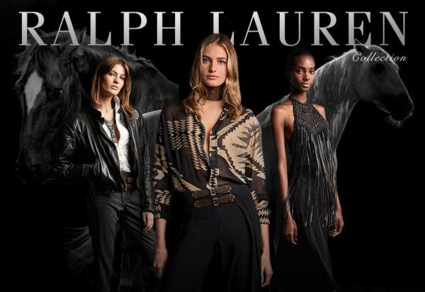 Models from the Ralph Lauren September Show